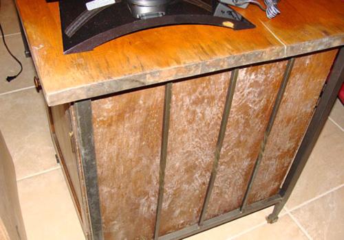 mold on furniture dangerous