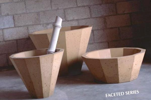 molds for cement planters