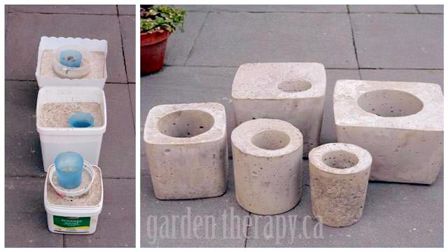 molds for making concrete planters