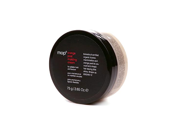 mop orange peel molding cream for pliable hold and texture