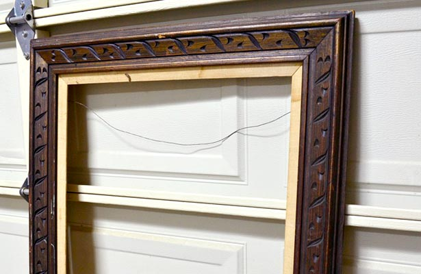 How To Make A Picture Frame From Crown Molding