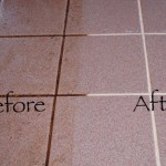 how to clean mildew from shower grout