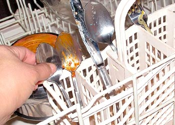 Get Rid Orange Mold in Dishwasher racks