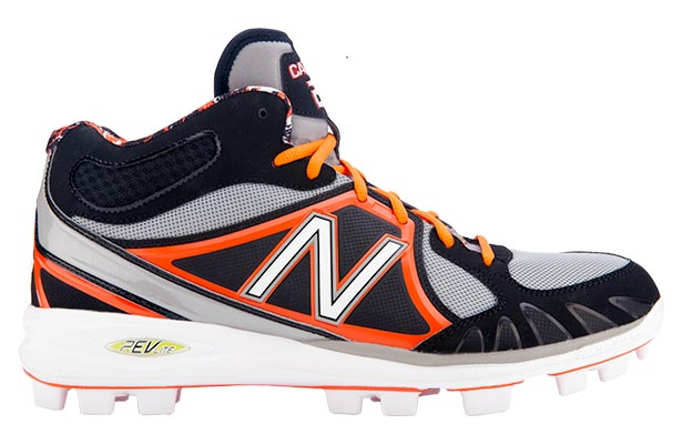 orange and black nike molded baseball cleats