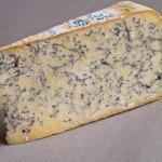 Orange Mold On Gorgonzola Cheese